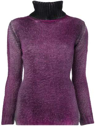 Avant Toi ribbed turtle neck sweater