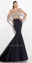 Tarik Ediz Close Evening Dress