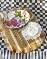 Mackenzie Childs MacKenzie-Childs Courtly Check Cheese & Cracker Set