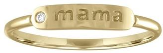 My Story Mama Yellow Gold Ring