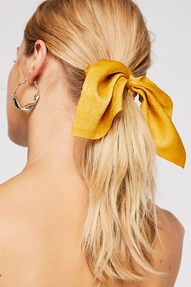 Free People Solid Milano Scrunchie
