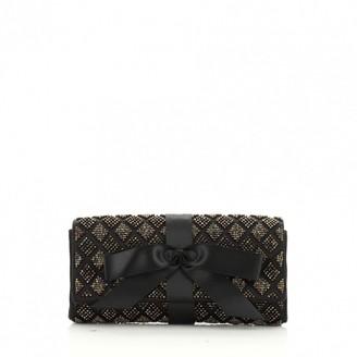Chanel Black Cloth Clutch bags
