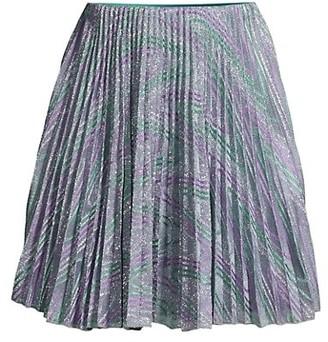 M Missoni Pleated Mini Skirt