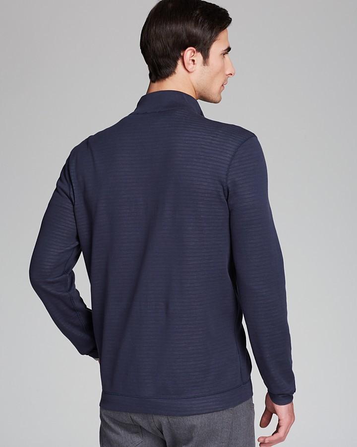 HUGO BOSS Fossa Doubleface Full Zip Sweater