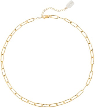 ela rae Chain-Link Choker Necklace