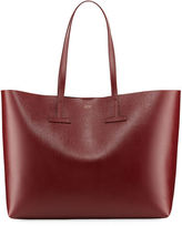 Tom Ford Saffiano Large Leather T Tote Bag