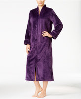 Charter Club Textured Zip-Front Robe, Only at Macy's