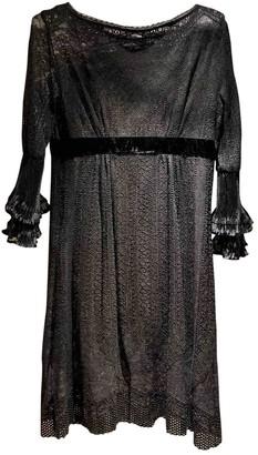 Philosophy di Alberta Ferretti Black Lace Dress for Women