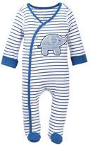 Boppy Baby Blues Striped Elephant Sleep & Play Footie (Baby Boys)