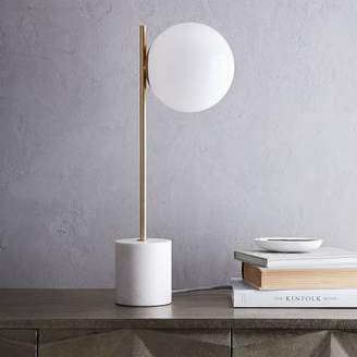 "west elm Sphere + Stem Table Lamp (22"")"