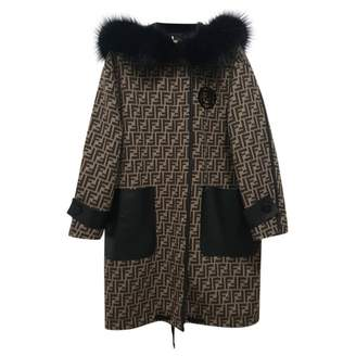 Fendi Brown Fur Coat for Women