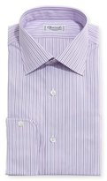 Charvet Striped Dress Shirt, Pink/Lavender