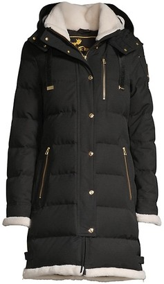 Moose Knuckles Gold Series Mont Joli Shearling Lined Parka