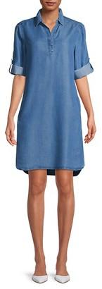BeachLunchLounge Emelia Tencel Shirt Dress