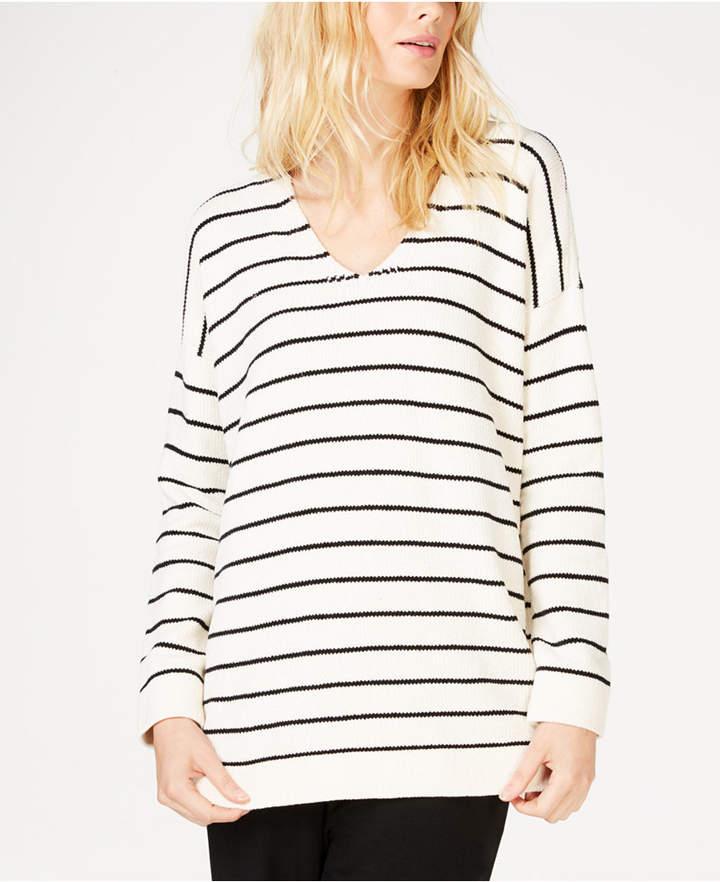 Chenille Striped Tunic