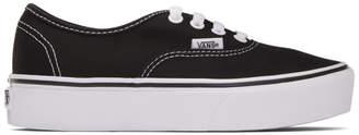 Vans Black OG Authentic Platform Sneakers
