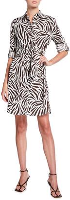 Finley Raleigh Zebra Print Dress