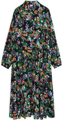 Arket Fluid Long-Sleeved Shirt Dress