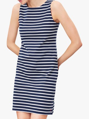 Joules Riva Sleeveless Cotton Dress, Navy