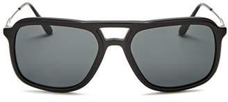 Prada Men's Brow Bar Aviator Sunglasses, 54mm