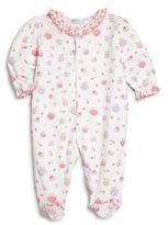 Kissy Kissy Baby's Perfect Cup Kitten Print Footie