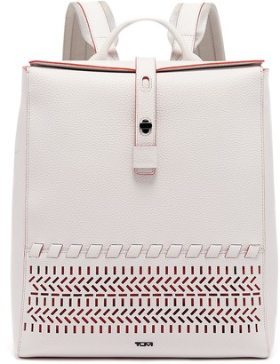 Tumi Mica Leather Backpack