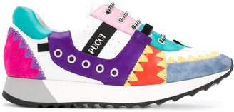 Emilio Pucci Patchwork sneakers