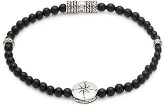 Effy Sterling Silver Black Onyx Beaded Bracelet