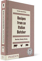 Phaidon Recipes From An Italian Butcher Hardcover Book