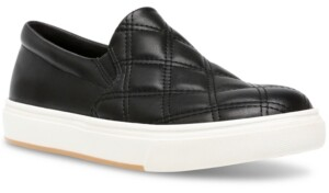 Steve Madden Women's Coulter Quilted Slip-On Sneakers