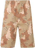 Stussy camouflage shorts - men - Cotton - S