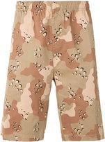 Stussy camouflage shorts