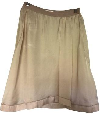 Etoile Isabel Marant Beige Silk Skirt for Women