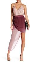 Young Fabulous & Broke Asymmetrical Ombre Skirt