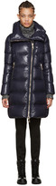 Moncler Navy Down Joinville Coat