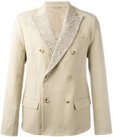 Ermanno Scervino button up jacket - men - Silk/Cotton/Polyamide/Cupro - 50