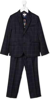 Paul Smith Plaid Two-Piece Suit