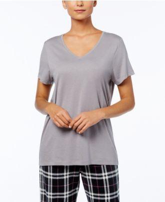 Hue Solid Short Sleeve Sleep Tee