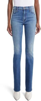 Mother The Insider High Waist Bootcut Jeans