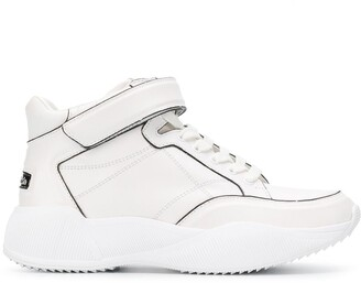 Calvin Klein Jeans touch-strap detail sneakers