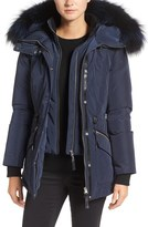 Mackage Water Resistant Down Parka with Genuine Fox Fur Trim