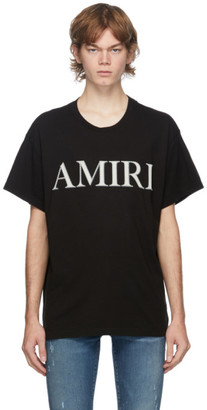 Amiri Black Stitch Logo T-Shirt