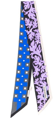 Emilio Pucci x Koche abstract-print silk scarf
