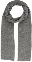 Barneys New York MEN'S CASHMERE STOCKINETTE-STITCHED SCARF