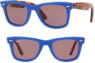 Ray-Ban Polarized 50mm Standard Classic Wayfarer Sunglasses