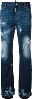 DSQUARED2 Ski distressed jeans - women - Cotton/Spandex/Elastane - 38