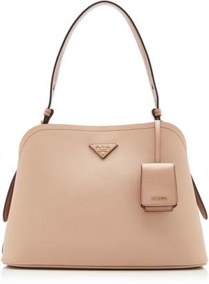 Prada Saffiano Cuir Small Top Handle Bag