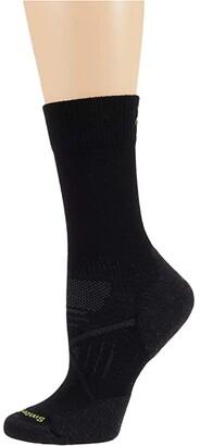 Smartwool PhD(r) Nordic Light Elite (Black) Crew Cut Socks Shoes