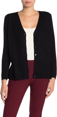 M Magaschoni V-Neck Button Cashmere Cardigan