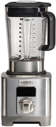 Wolf Gourmet High-Performance Blender with Silver Knobs